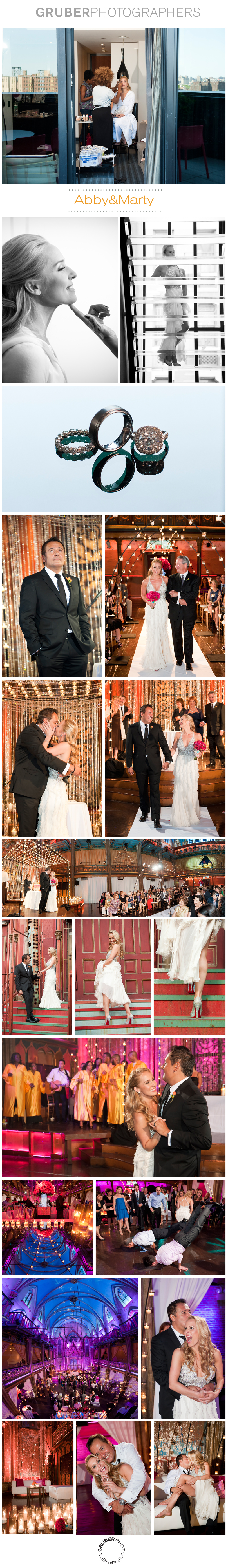 Luxury New York City Angel Orensanz Wedding