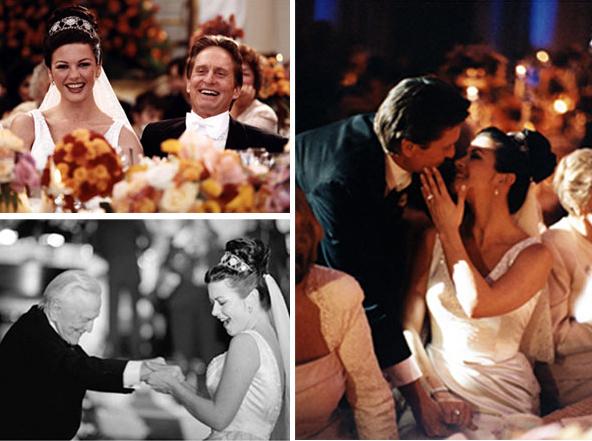 Catherine Zeta Jones Michael Douglas Wedding Gruber Photographers