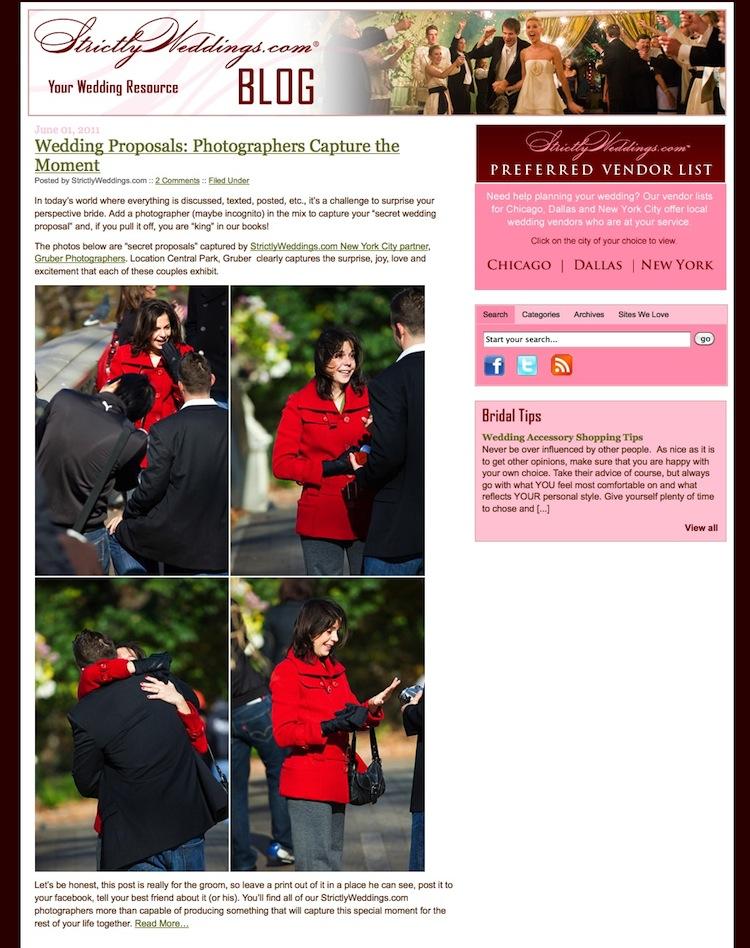 Hidden Photographer Proposals by Gruber