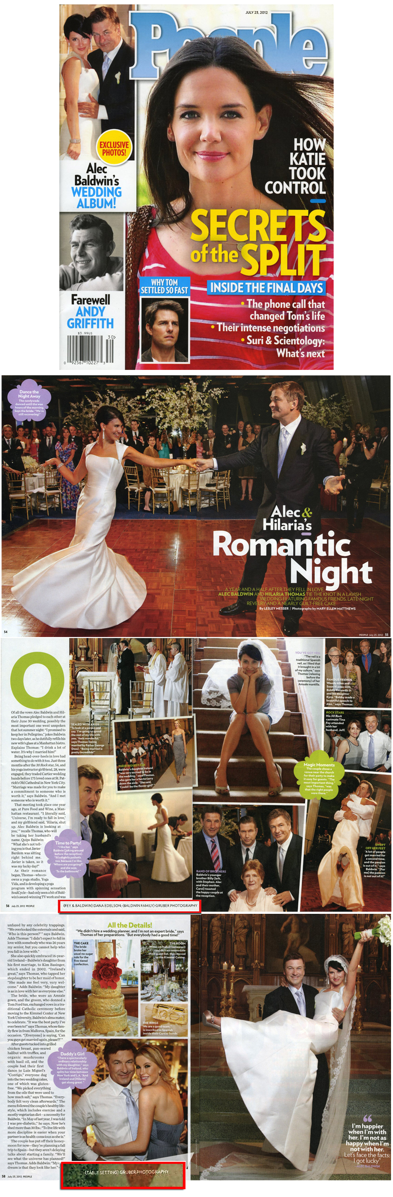 Gruber Photographers in People Magazine