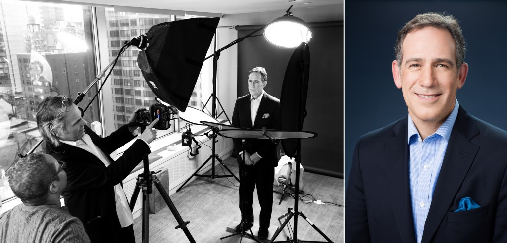 Behind the scenes: Corporate Headshots at NYC's Univision
