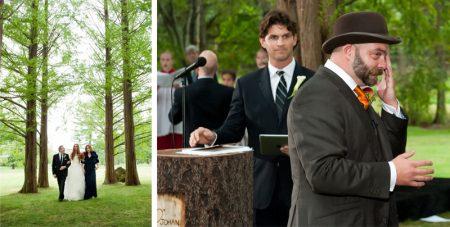 Groom Cries when he sees Bride in Dress