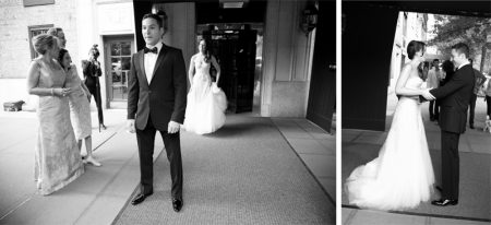Groom Reaction to seeing Dress for First Time