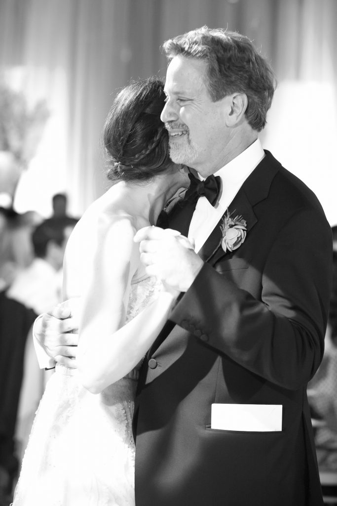 Father and Bride Dance at Her Wedding
