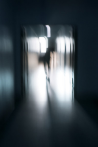 Photo Down a Haunted Hallway