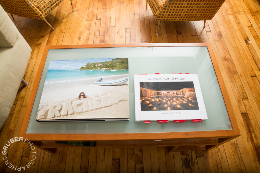 Coffee Table Book on a Coffee Table