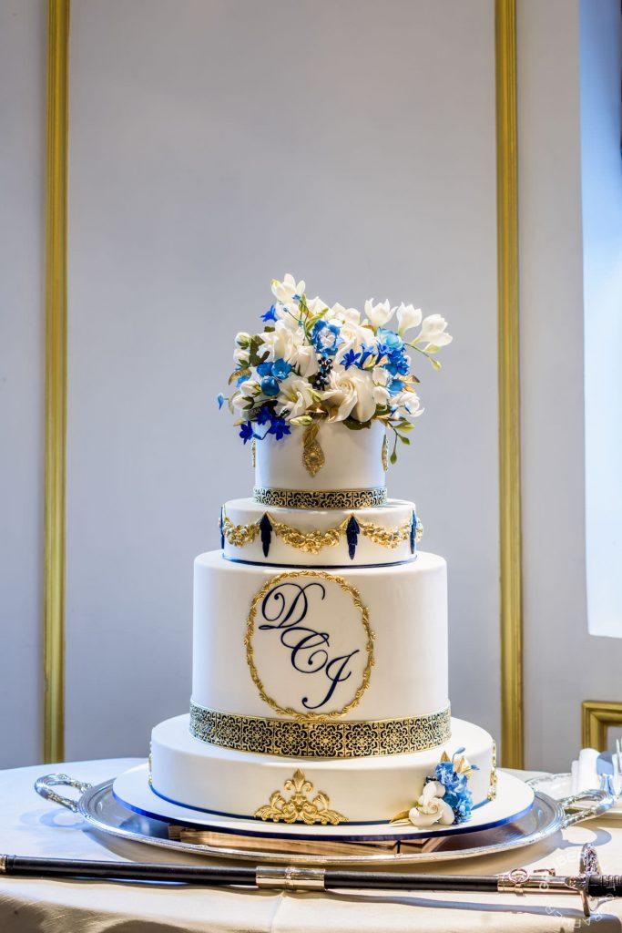 NYC Wedding Cake Photography Gruber Photographers - Ben Israel Wedding Cakes