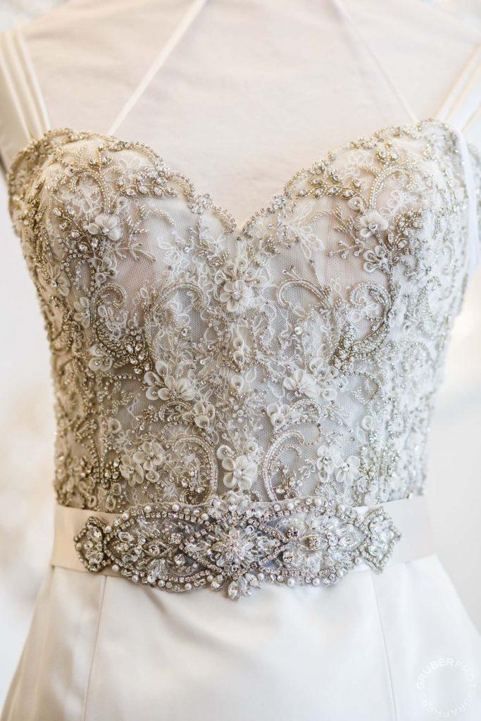Lazaro Wedding Dress Details
