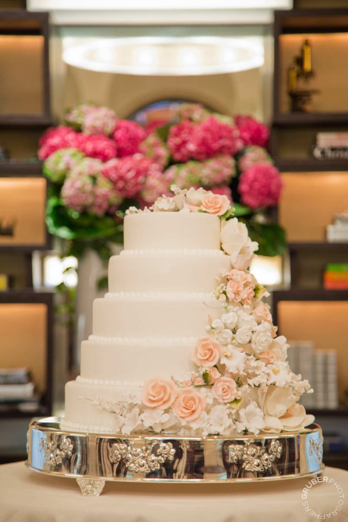 Wedding Cake by Pastry Chef of the Daniel NYC