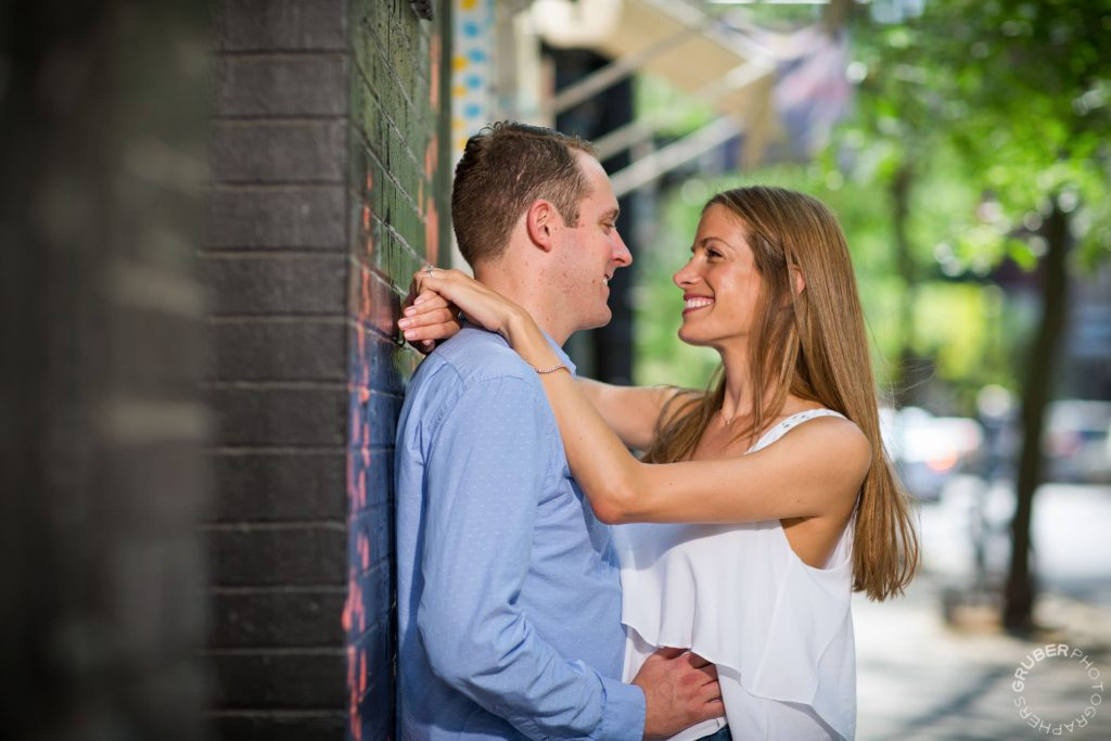 Downtown New York Engagement photography