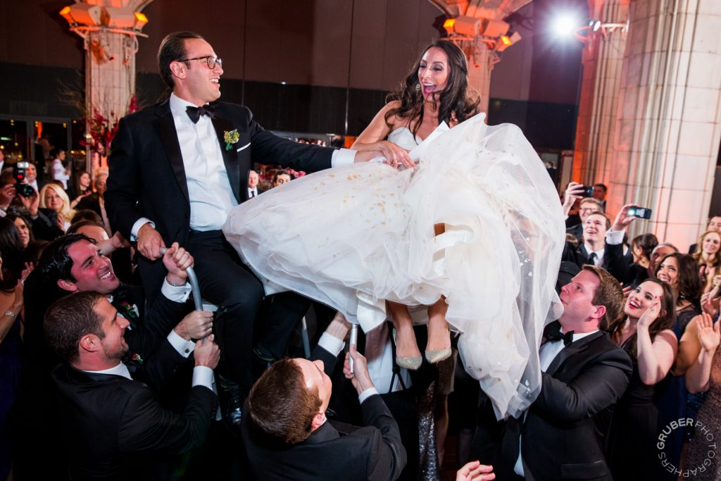 Bride and Groom during their luxury wedding reception in New York CIty