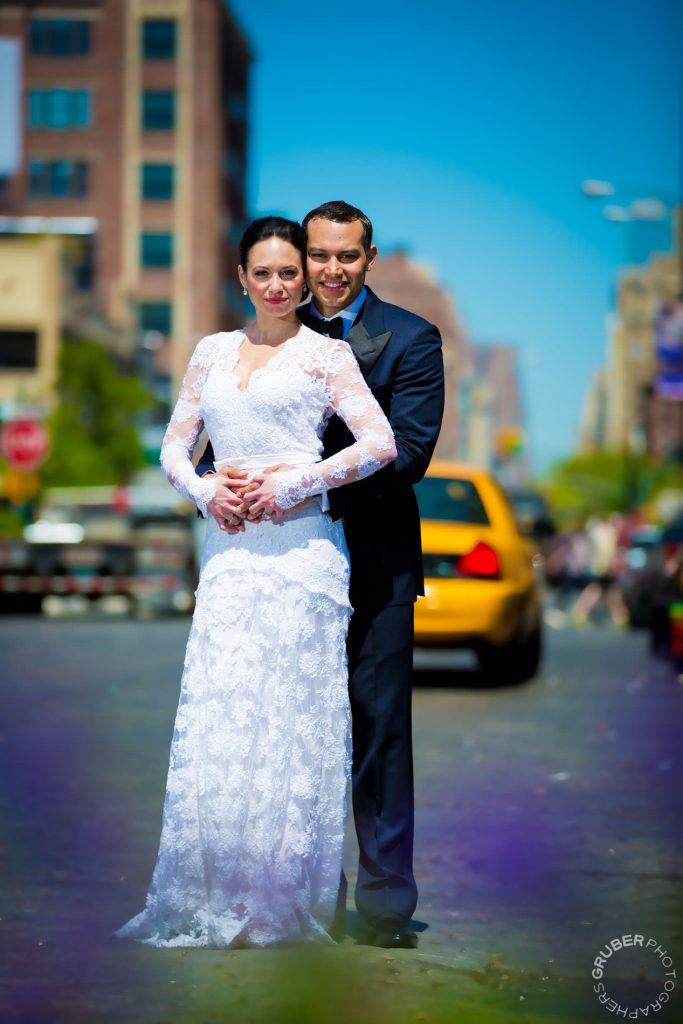 Couple in the streets of the Meatpacking District