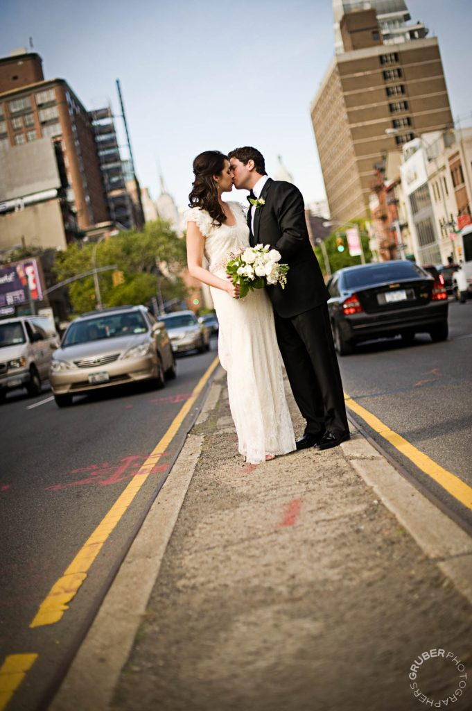 New York City Couple in Traffic