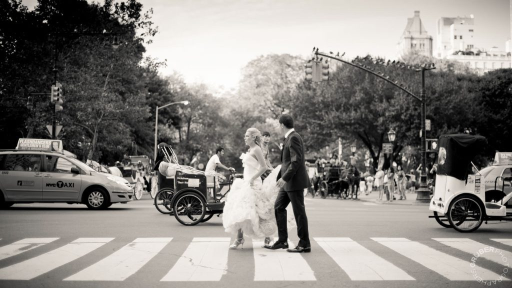 Candid Couple Crosswalk