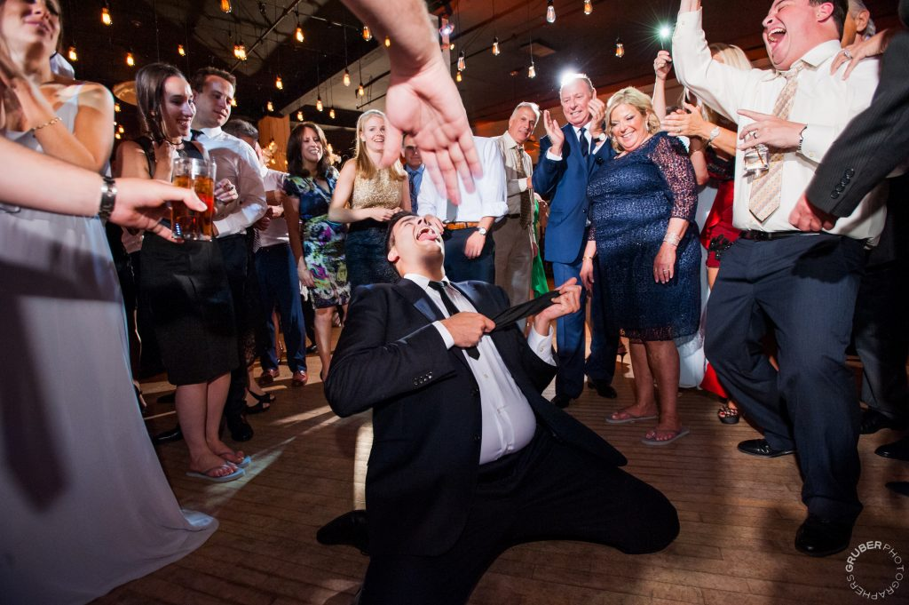 Luxury Wedding Guests Busting a Move