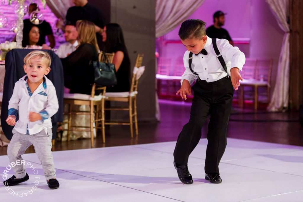 Gettin Down at the Reception