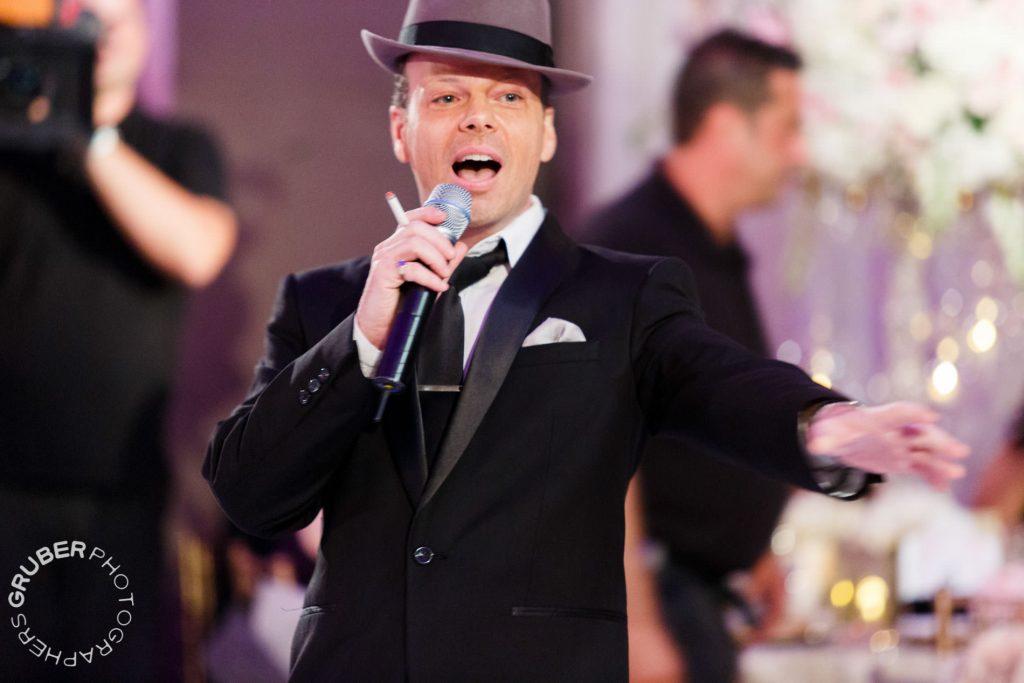 Frank Sinatra Serenades the Wedding Party