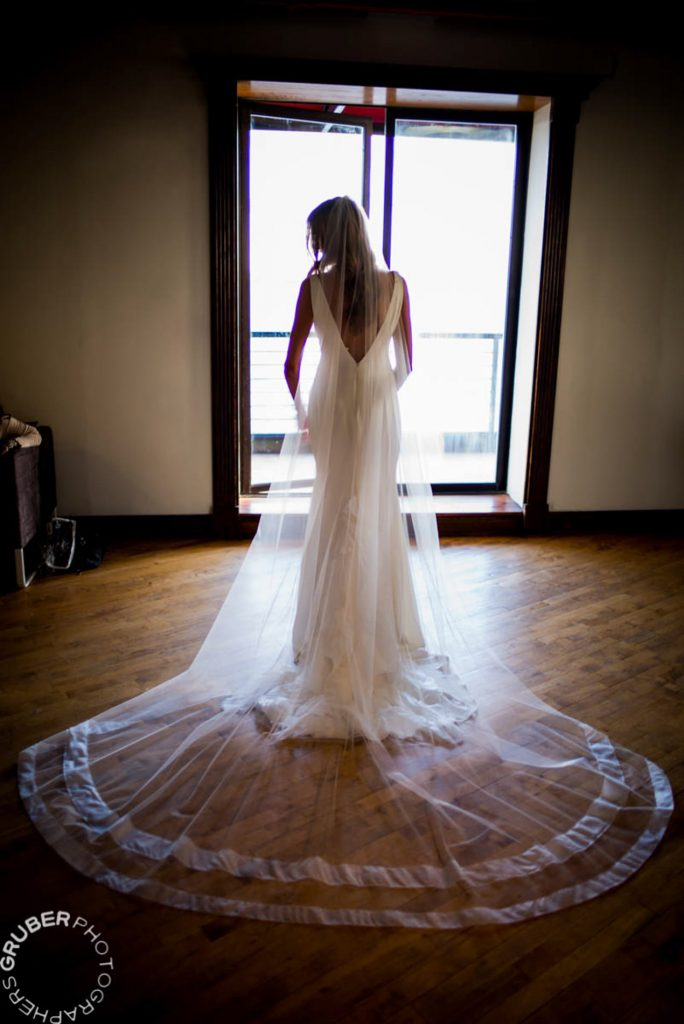 Whitney in her gorgeous Vera Wang Wedding Gown