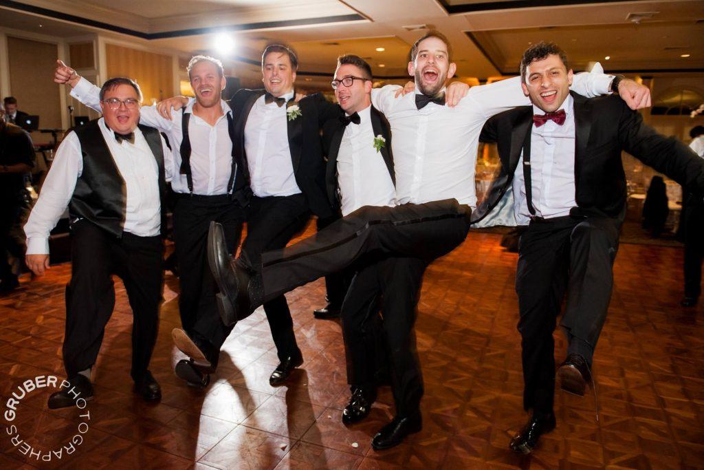 Every wedding needs a kick line
