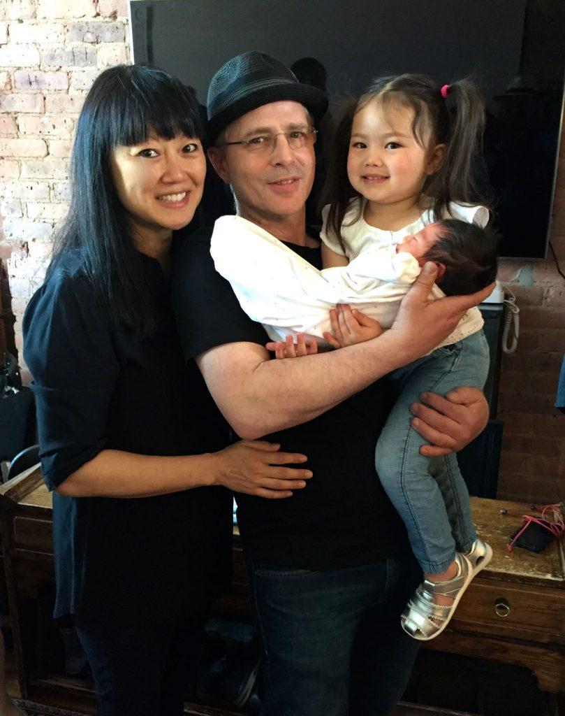 The beautiful, happy family