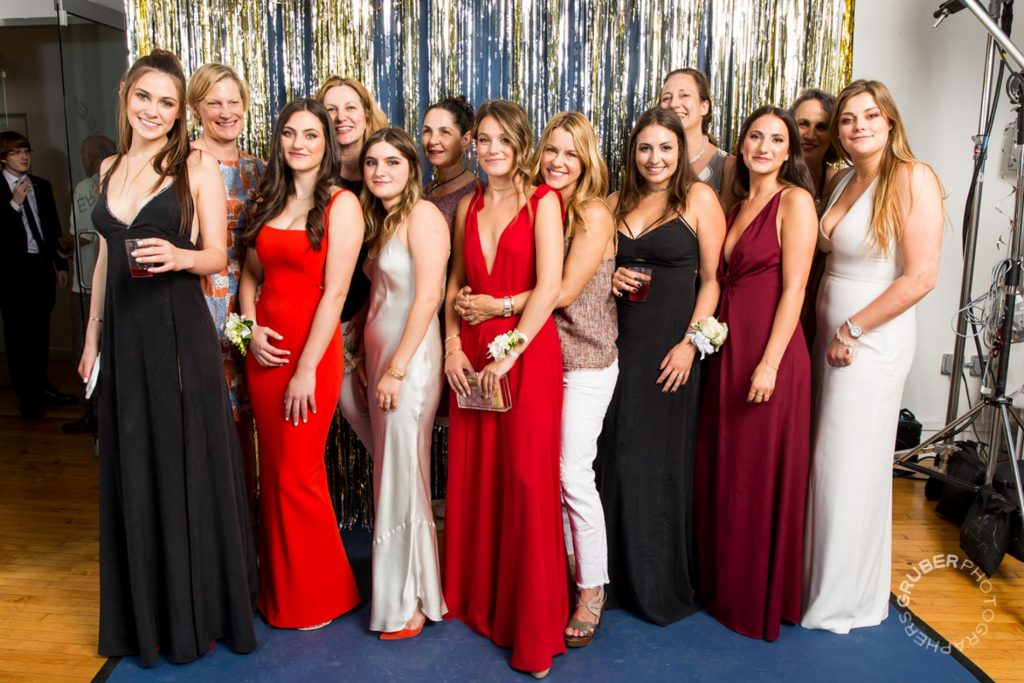 Group of Ladies Ready for Prom