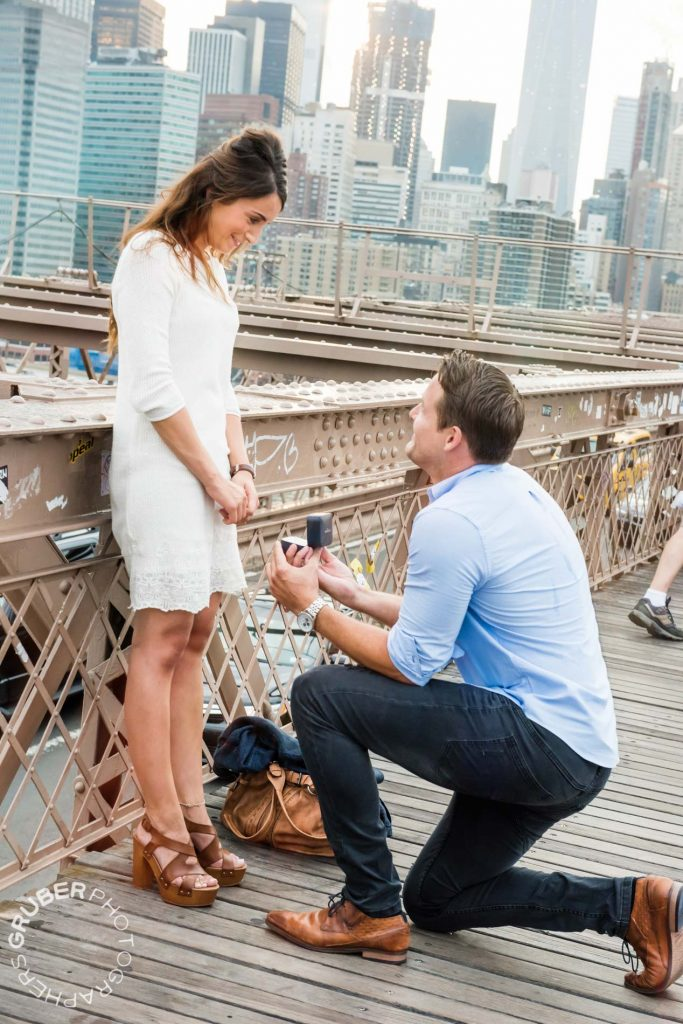 Surprise Marriage Proposal in NYC