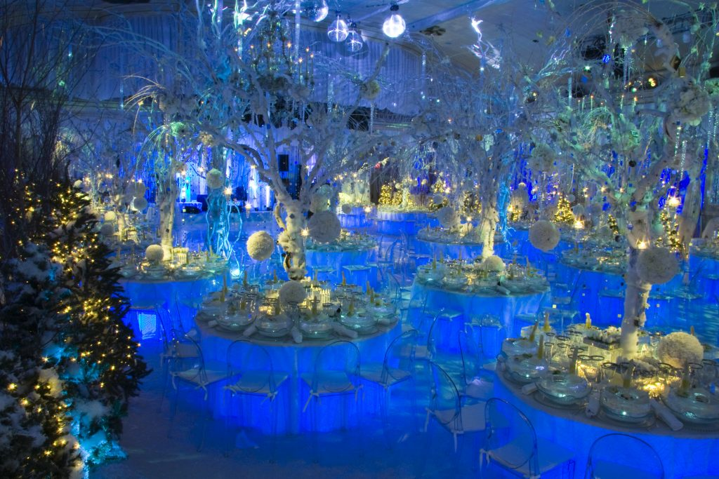 Winter Wonderland Wedding Decor Photographer NYC