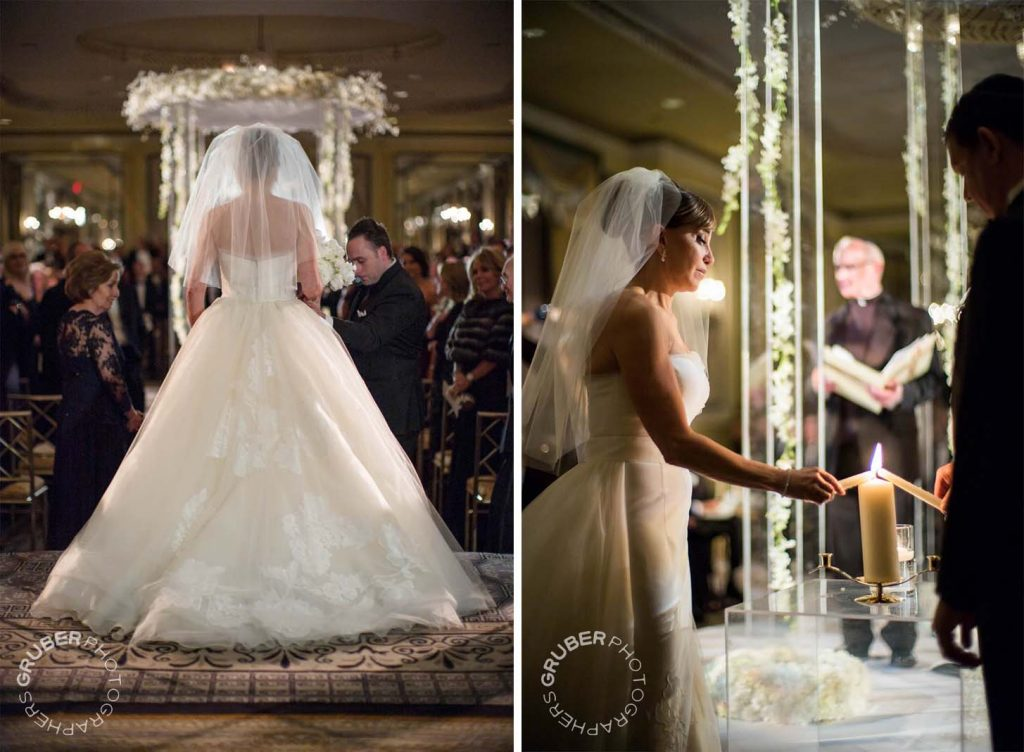Bride in Beautiful Dress