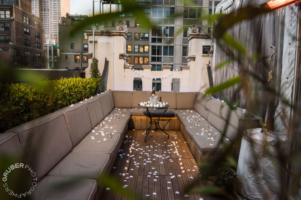 Proposal on a Private Terrace in NYC