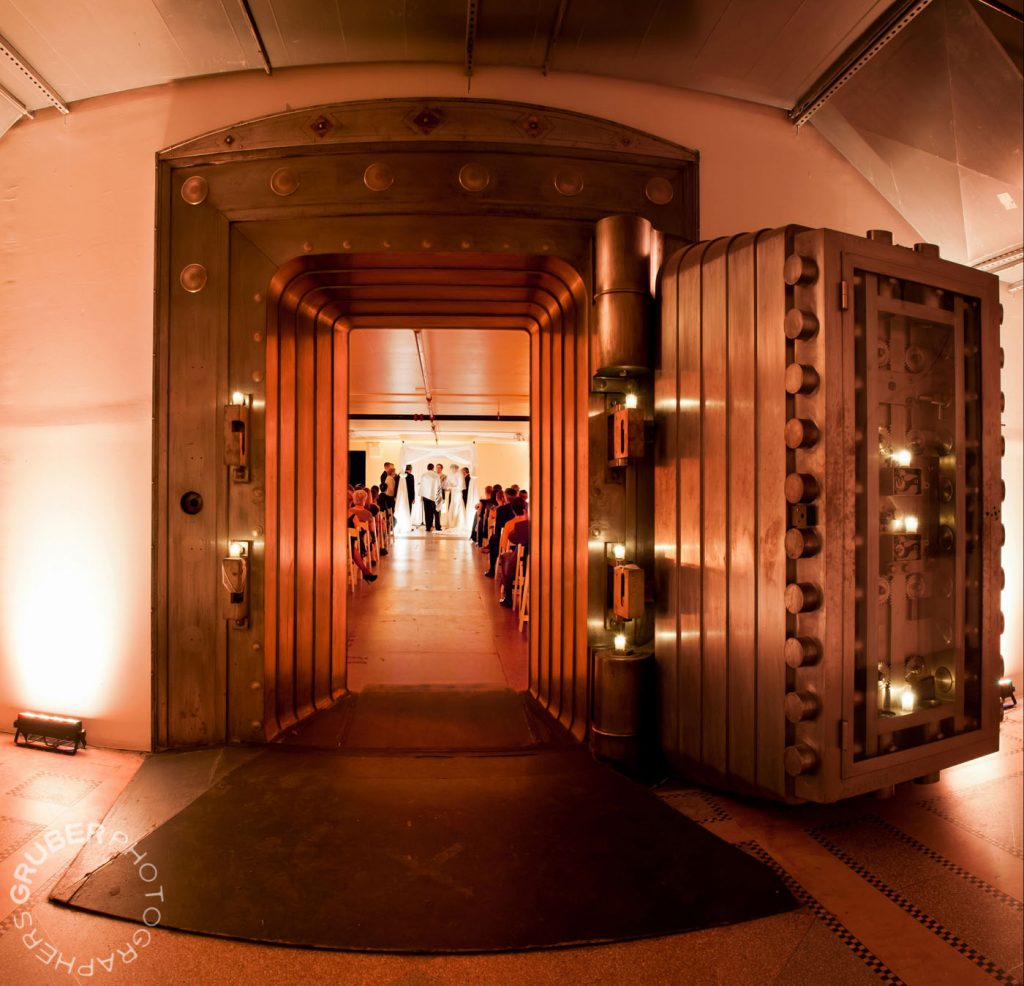 Wedding in a Bank Vault