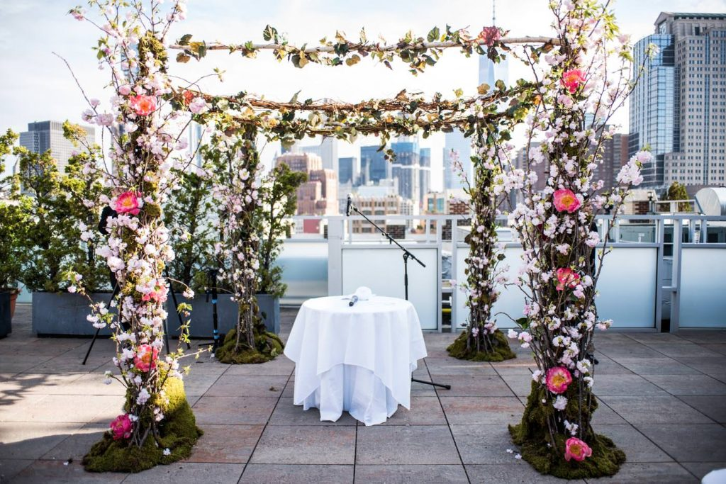 Tribeca Rooftop - NYC Outdoor Wedding Venue