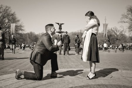Surprise Proposal Photographer in NYC