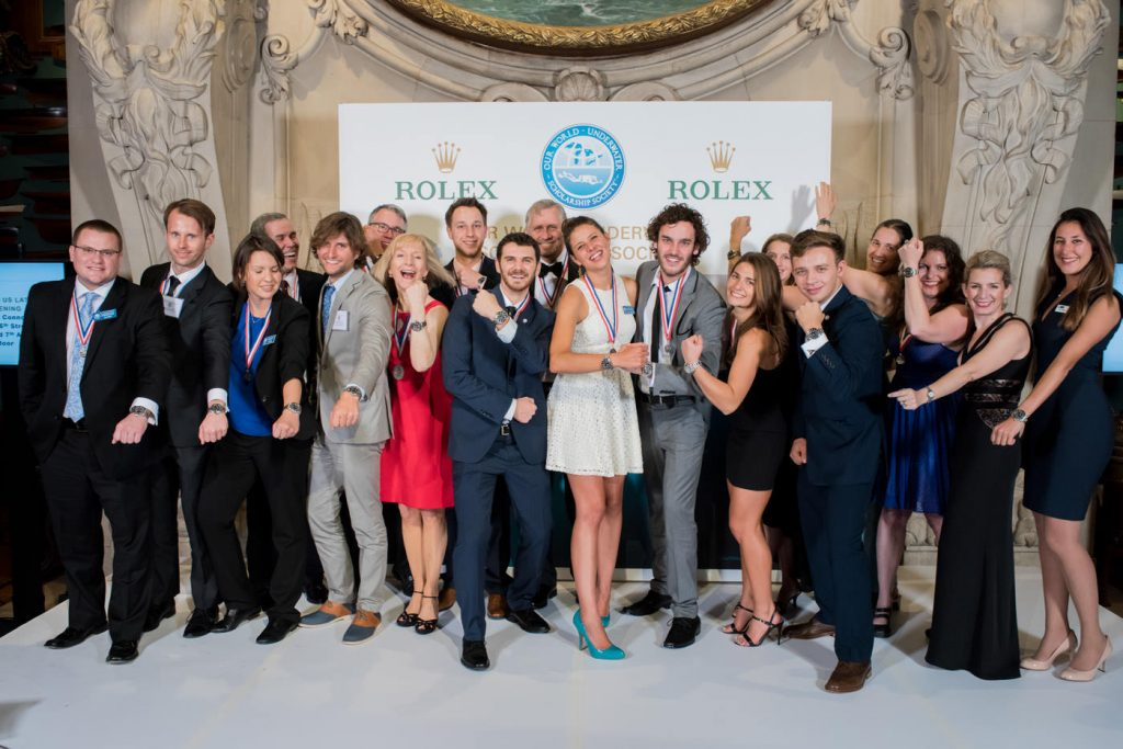 Group Photo at Rolex Event